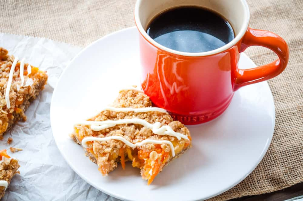 Carrot Cake Bar and Coffee