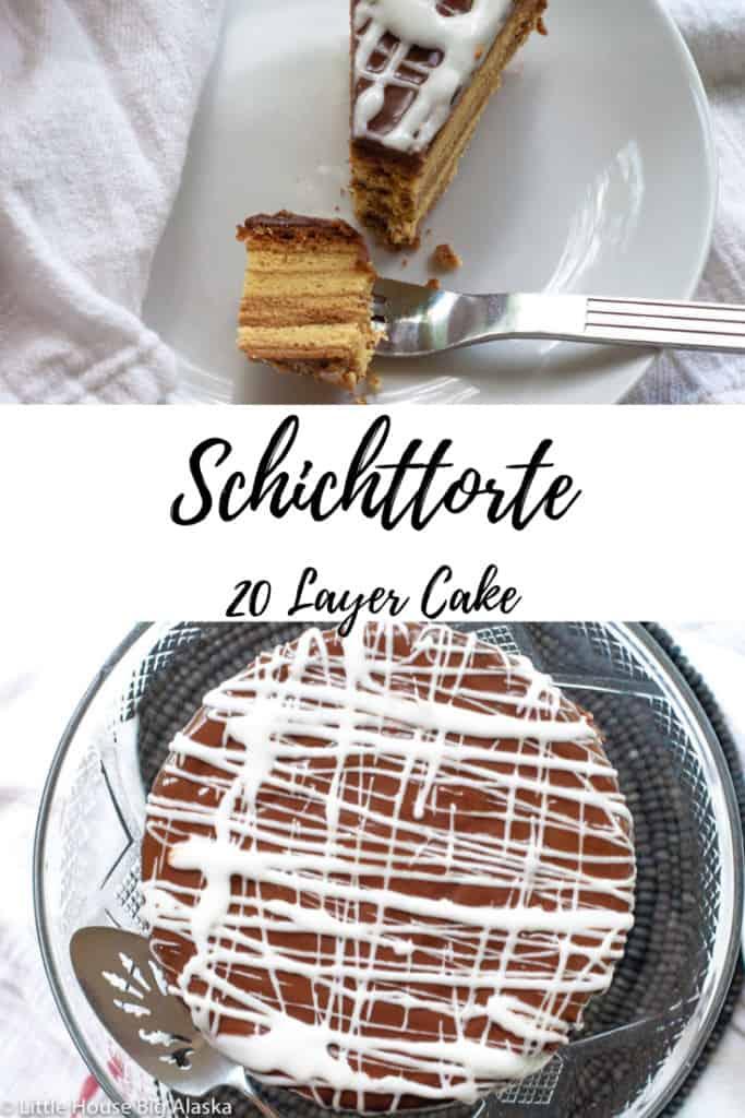 pin for the Schichttorte 20 Layer Cake