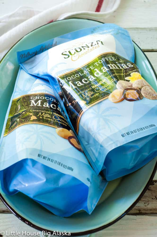 Chocolate Toffee Macadamias by Sconza the best Potluck Food