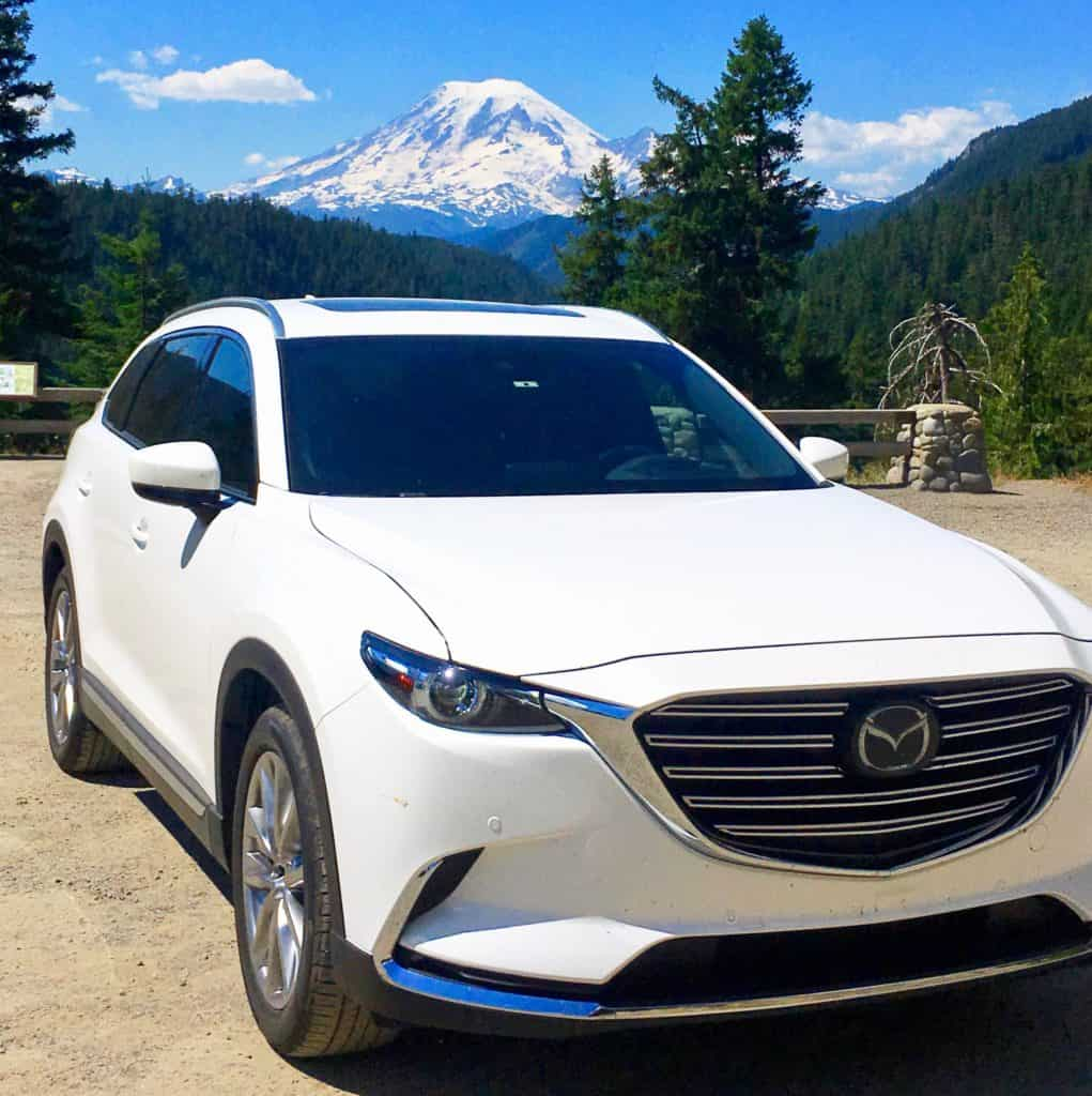 Mt. Rainier with Mazda CX9