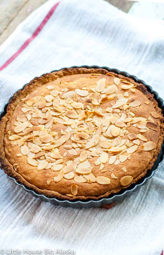 classic GBBO recipe for a bakewell tart