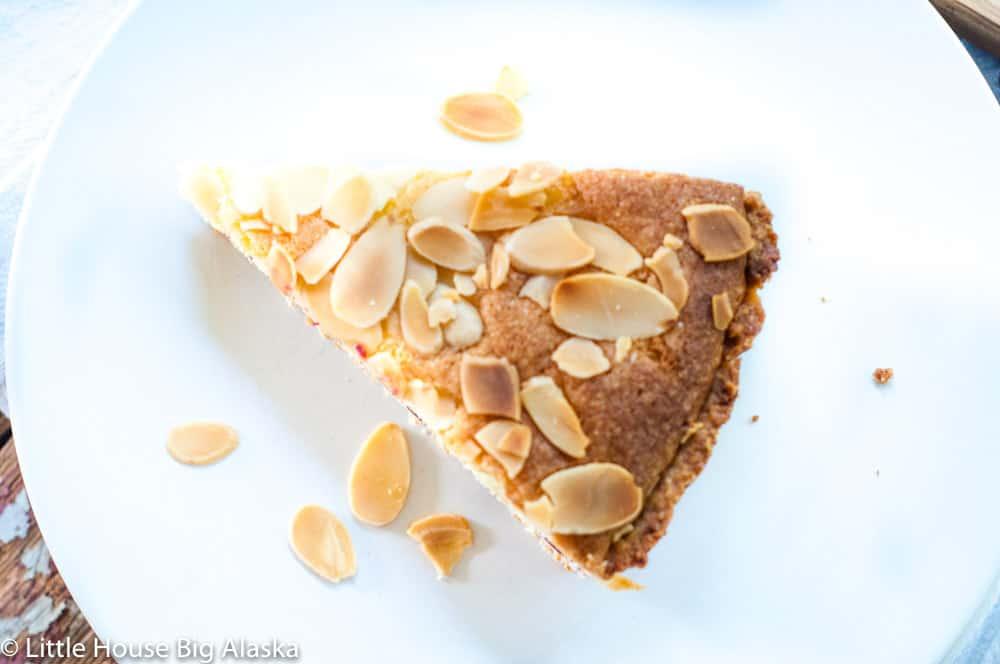 slice of a fresh tart