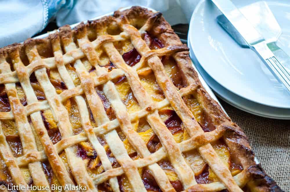 Nectarine Dessert
