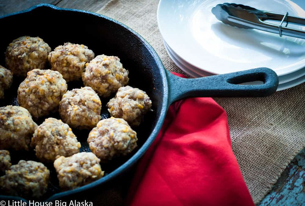 Old Fashioned Sausage Balls