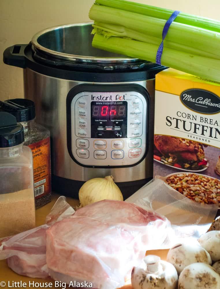 Instant Pot Stuffed Pork Chops Little House Big Alaska