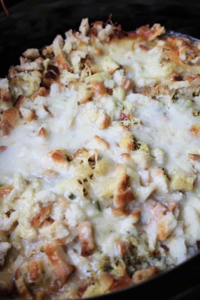 Crockpot Chicken Cordon Bleu