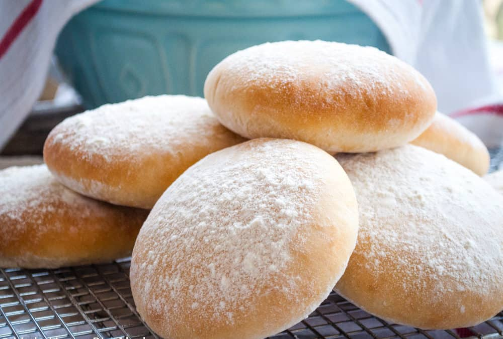Floury Baps for the GBBO