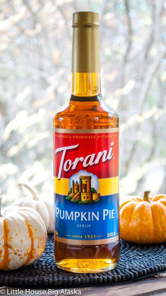 pumpkin pie syrup