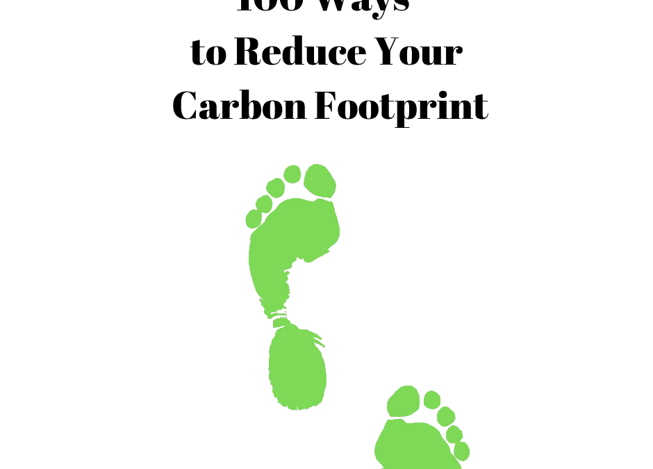 100 Things You Can do to Reduce Your Carbon Footprint
