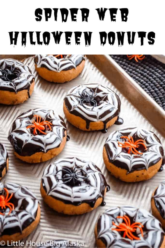 Pin for Halloween Donuts