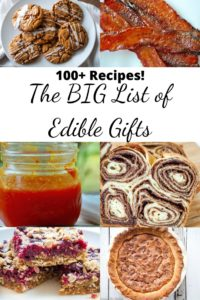 Pin for Big List of Edible Gifts