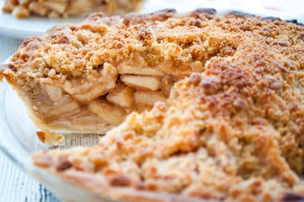 Dutch Apple pie with my Easy Homemade Pie Recipe
