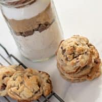 BEST Gluten-Free Chocolate Chip Cookies (In a Jar Option)