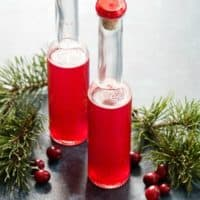 Homemade Cranberry Vinegar