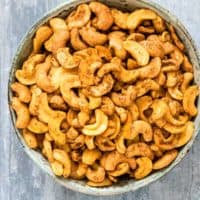 Spicy Roasted Cashew Nuts