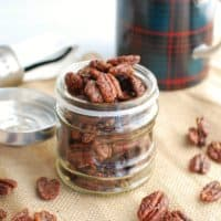 The Best Keto Candied Pecans