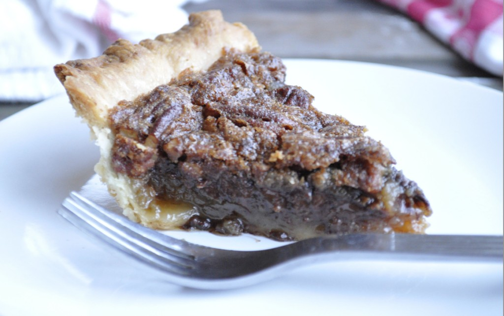 Slice of Chocolate Pecan Pie Recipe