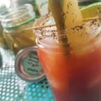 Canned Bloody Mary Pickles