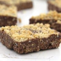 Chocolate Crispies with Cornflakes and Caramel
