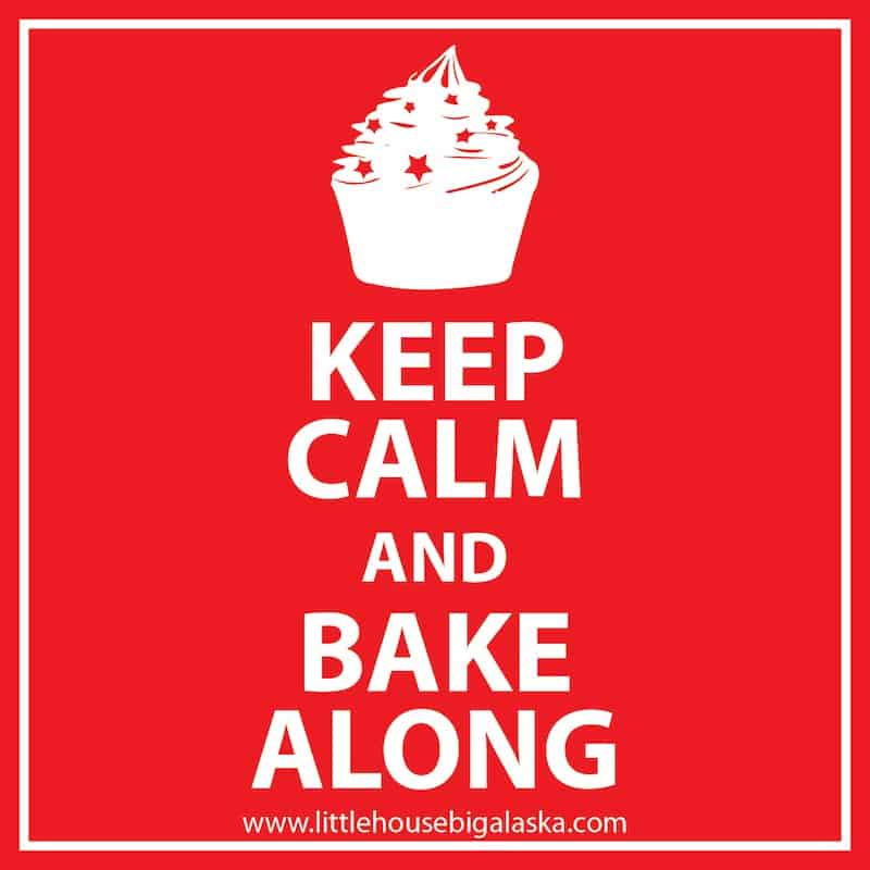 Keep Calm and Bake-Along Sticker
