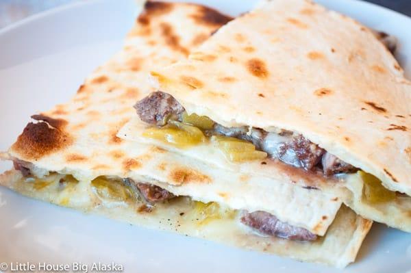 Easy Quesadillas with Leftover Prime Rib Roast Recipe