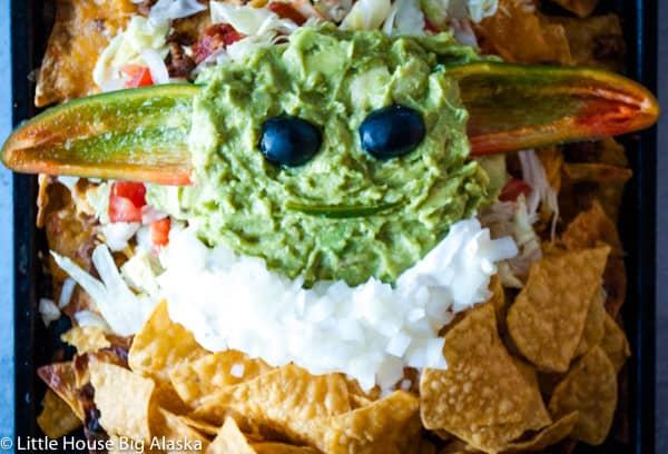 edible baby yoda nachos
