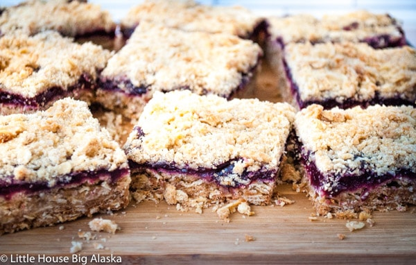 Cherry Bars a GBBO Traybake