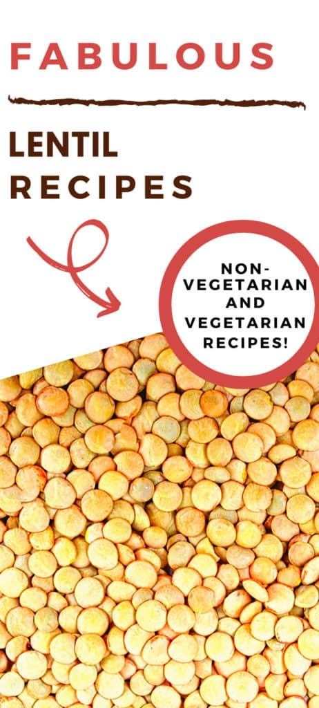a collection of lentil recipes