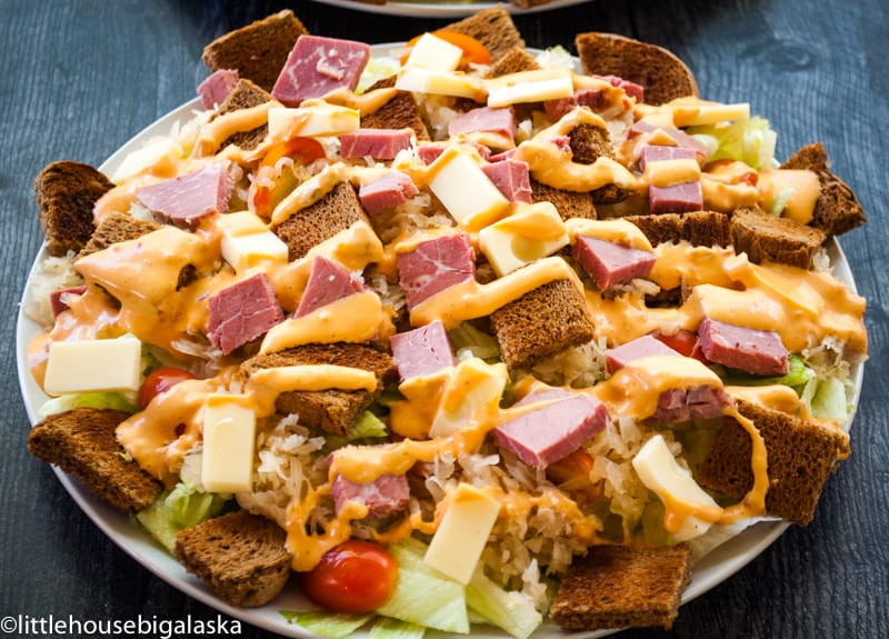 Reuben Sandwich Salad