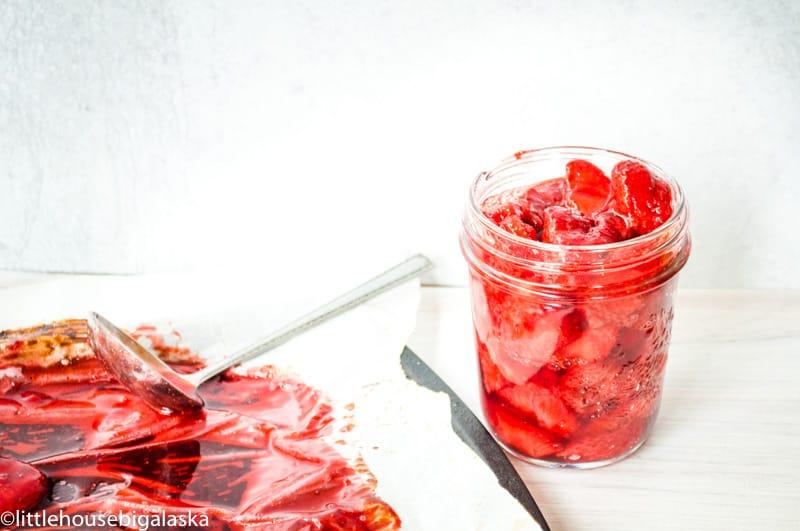 Easy Roasted Strawberries