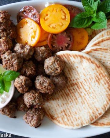 Greek Turkey Meatballs