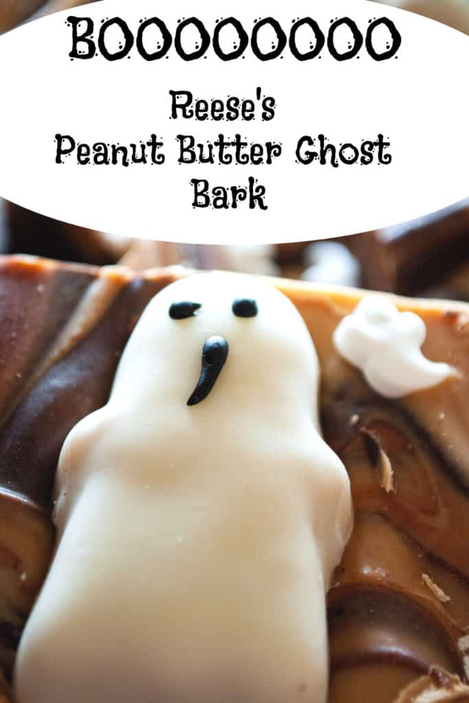Pin for Easy Halloween Treats, Reese's Peanut Butter Bark!