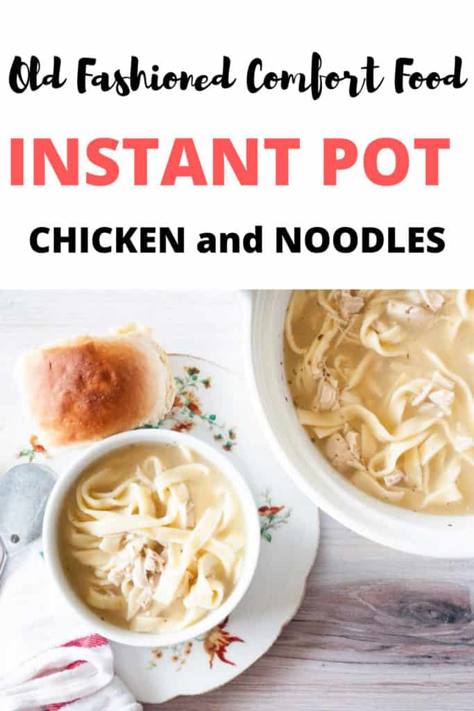 pin for instant pot chicken and noodles
