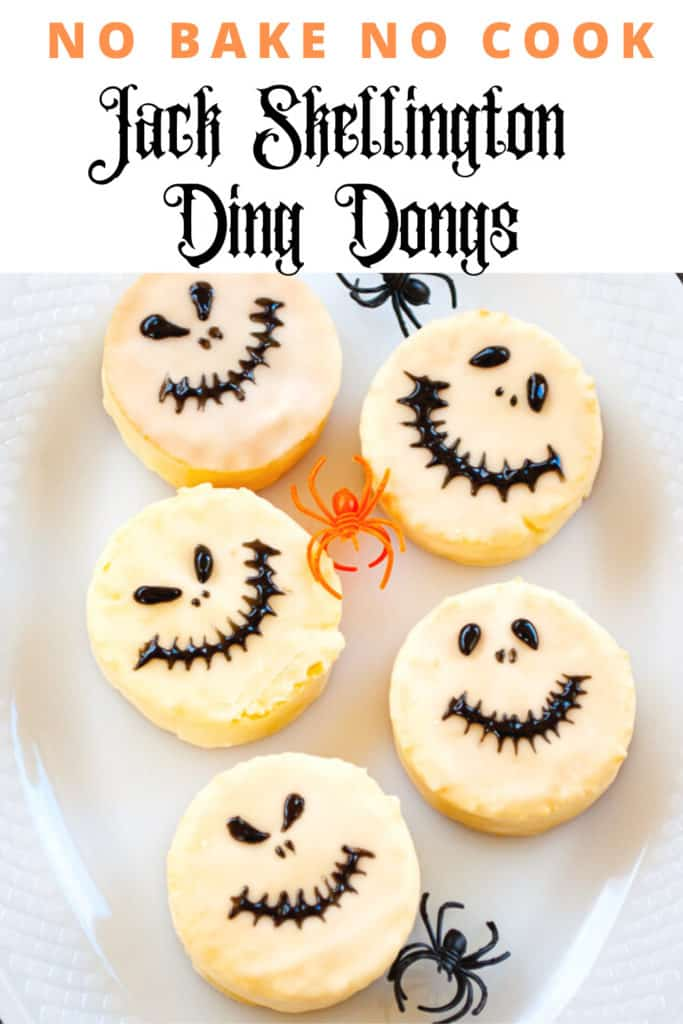 Pin for Jack Skellington Halloween Treats.
