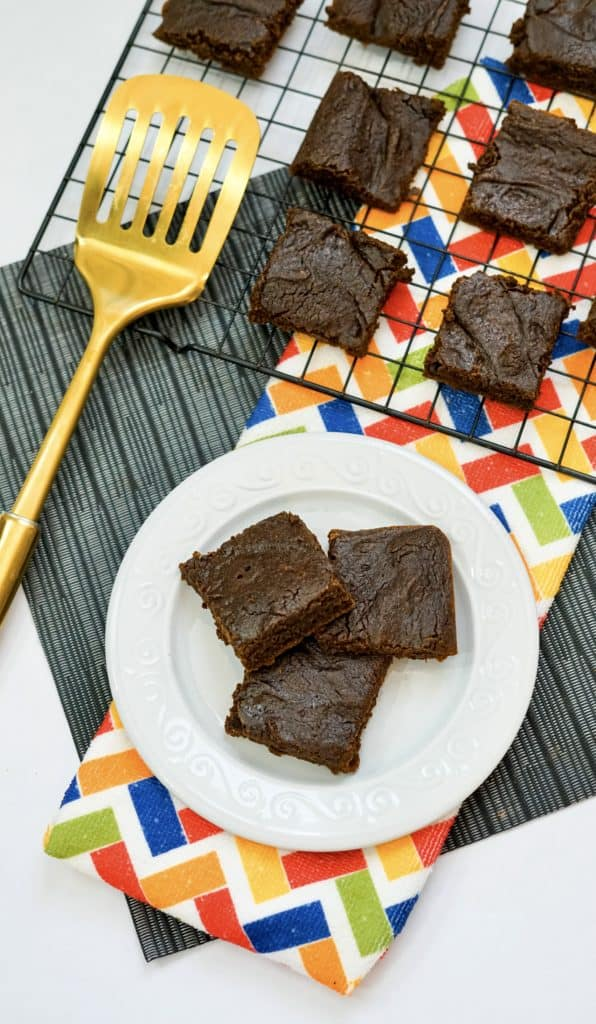 Easy Low-Fat Brownies.