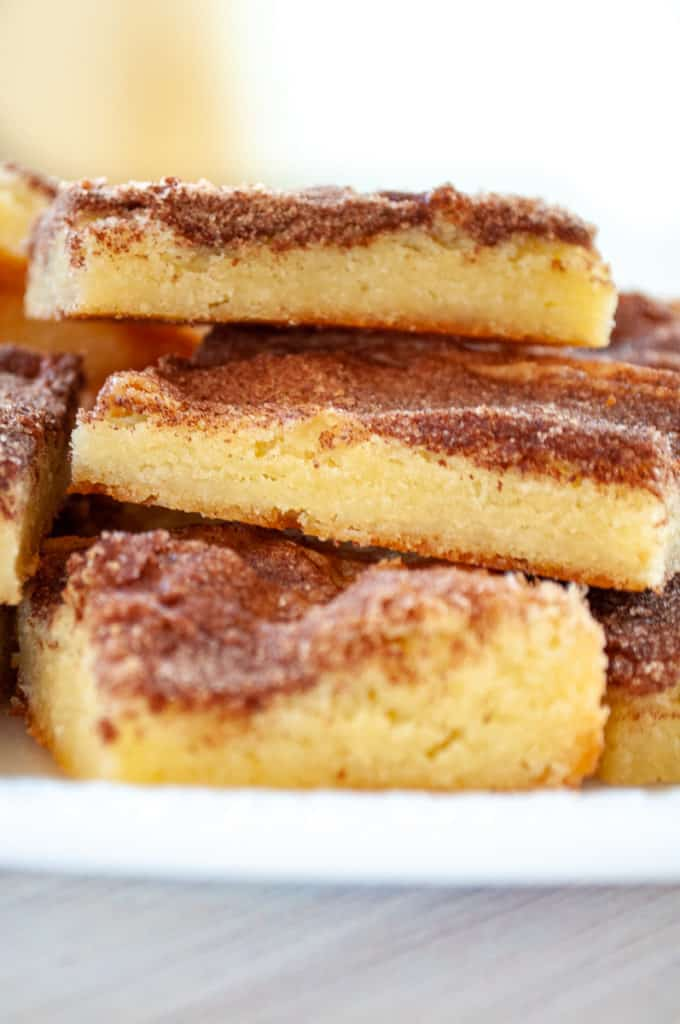 A Stack of Snickerdoodle Bars.