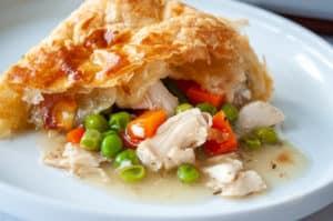 Leftover Turkey pot pie made easy!