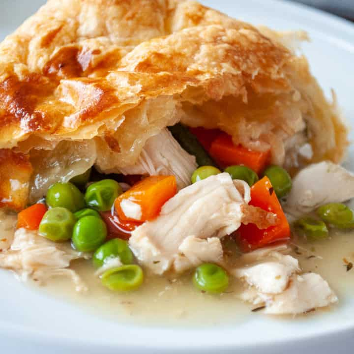 Leftover Turkey pot pie made easy!