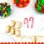 Pin for No-Bake Gingerbread House