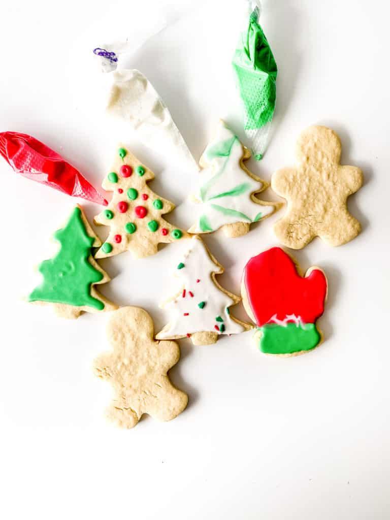 Glazed No Spread Sugar Cookies.