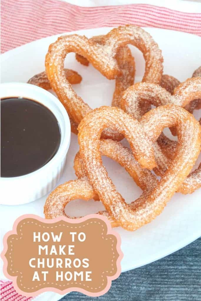 Pin for How to Make Churros.