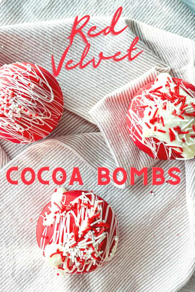 Pin for Red velvet hot chocolate Bombs.