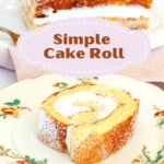 Simple Cake Roll Pin.