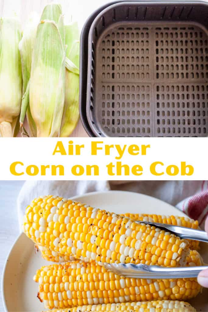 Pin for Air Fryer Corn on the Cob!
