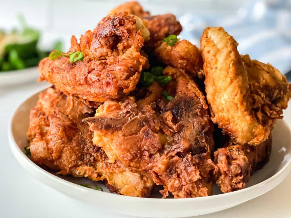 Easy Buttermilk Fried Chicken.