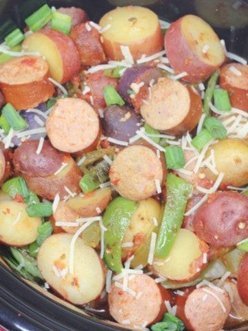 Easy crock pot dinner.