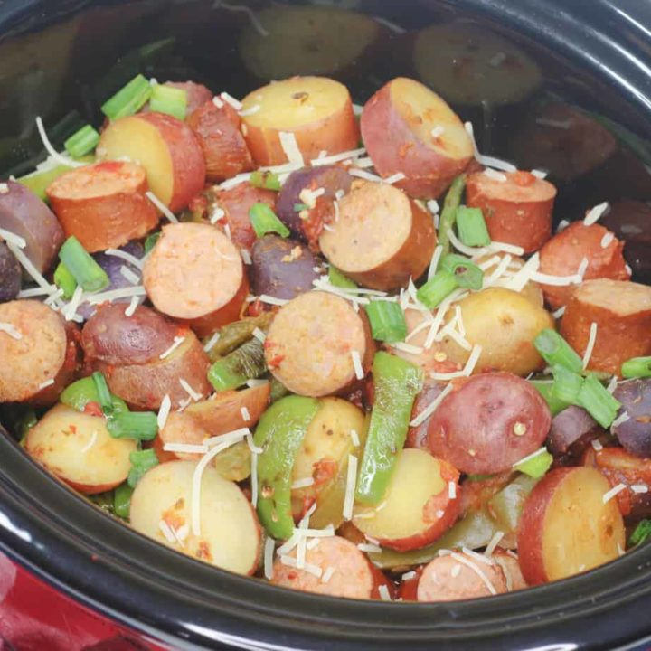 Slow Cooker Sausage and Potatoes