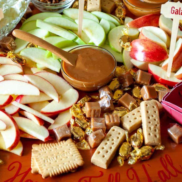 Apple Pie Dessert Charcuterie Board