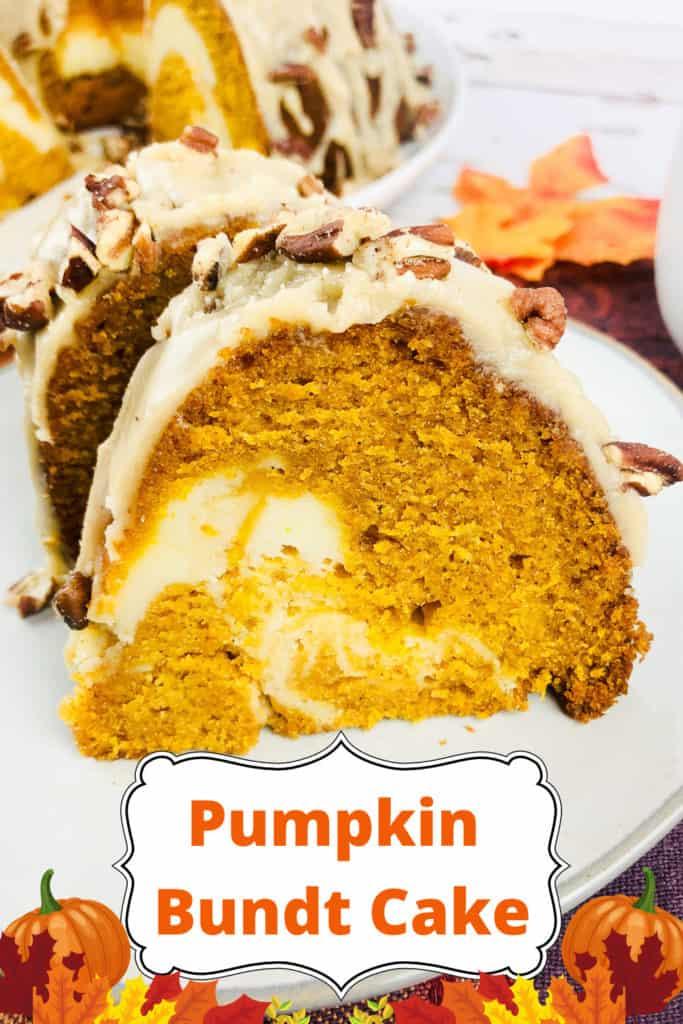 Pin for Pumpkin Bundt Cake.